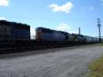 CSX 8857, CSX 8594 & CSX 8015 EB